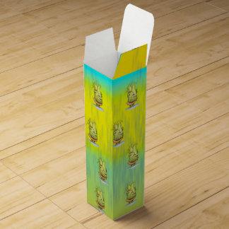 EPIZELLE ALIEN MONSTER CARTOON Wine box