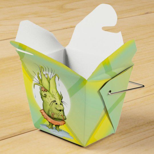 EPIZELLE CARTOON Take Out Favour Box