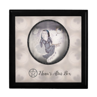 Epona Goddess Altar Box Pagan Witch