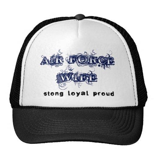 Épouse de l'Armée de l'Air : Fort, loyal, fier Casquettes De Camionneur