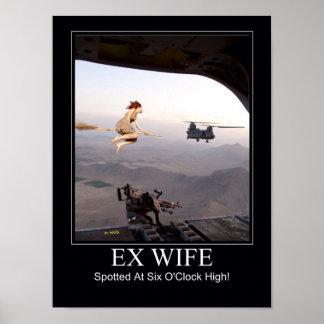 Épouse ex repérée