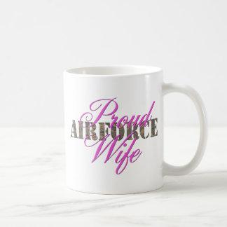 épouse fière de l Armée de l Air Mug