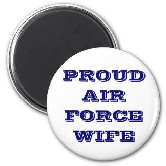 Épouse fière de l'Armée de l'Air d'aimant