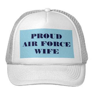 Épouse fière de l'Armée de l'Air de chapeau Casquette