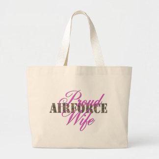 épouse fière de l'Armée de l'Air Sac