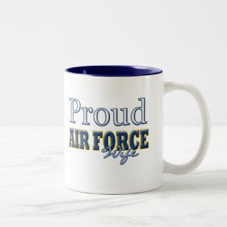 Épouse fière de l'Armée de l'Air Mug À Café