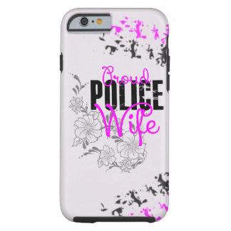 Épouse fière de police coque iPhone 6 tough