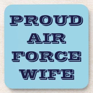 Épouse fière réglée de l'Armée de l'Air de caboteu Sous-bocks