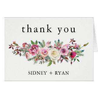 Épouser de cartes de Merci de ROSE de ROSE