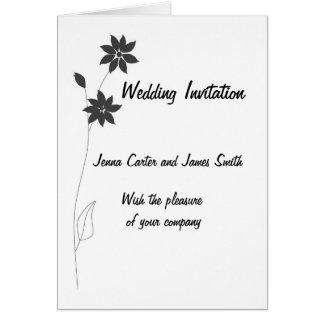 Épouser la gamme stationnaire, personnaliser cartes de vœux