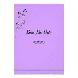 Épouser la gamme stationnaire, personnaliser carton d'invitation 8,89 cm x 12,70 cm