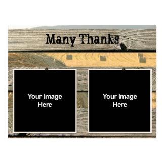 Épouser le carte de remerciements stationnaire