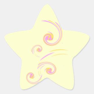 Épouser l'ensemble léger stationnaire de boucle autocollant en étoile