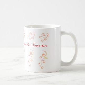 Épouser l'ensemble léger stationnaire de boucle mug blanc