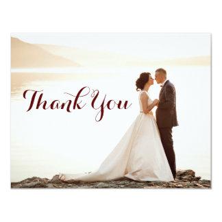 Épouser les notes nuptiales de Merci de douche Carton D'invitation 10,79 Cm X 13,97 Cm