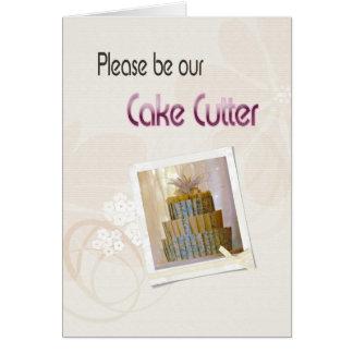 Épouser stationnaire carte de vœux