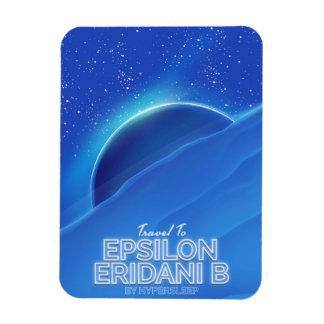 Epsilon Eridani b sci-fi Travel poster Magnet