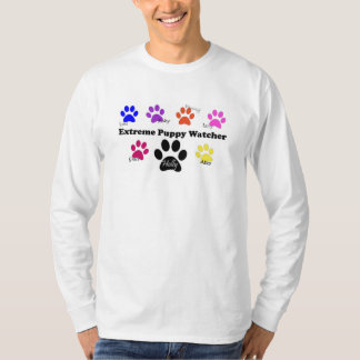 EPW paw prints - all white styles T-Shirt