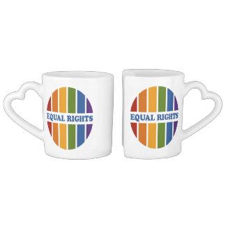 Equal Rights custom couple's mugs Couple Mugs