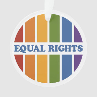Equal Rights custom ornament