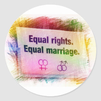 equal right for marriage