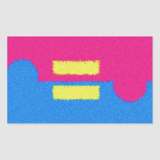 Equal Rights Logo, Impressionist's Style Sticker
