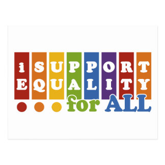 Equal Rights postcard