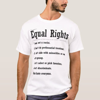 """Equal Rights"" T-Shirt"