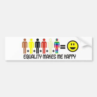 Equality-2 Bumper Sticker