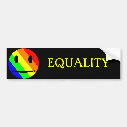 EQUALITY Bumper Sticker