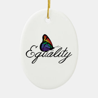 Equality Ceramic Ornament