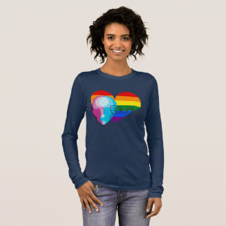 Equality For All Design Long Sleeve T-Shirt