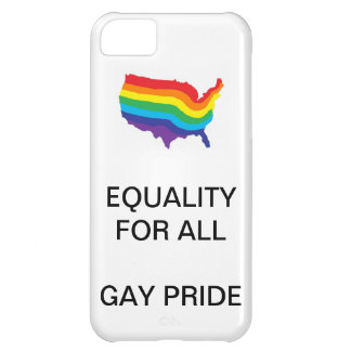 EQUALITY FOR ALL-GAY PRIDE PHONECASE COVER FOR iPhone 5C