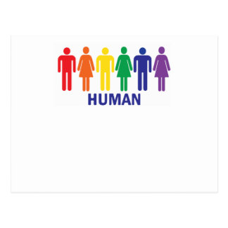 EQUALITY GAY RIGHTS RAINBOW POSTCARD