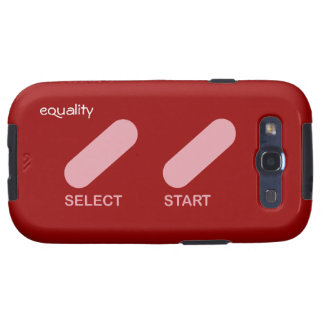"Equality ""select start"" gay rights galaxy SIII covers"