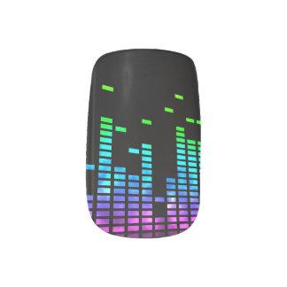 Equalizer Volume Bars Minx Minx Nail Art