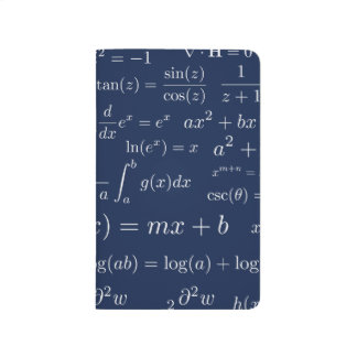 Equations of Math and Science Pocket Journal