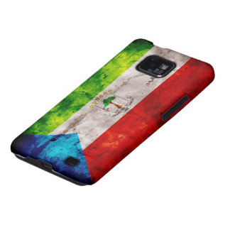Equatoguinean Flag Samsung Galaxy S2 Covers