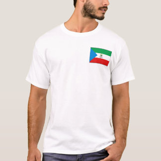 Equatorial Guinea Flag and Map T-Shirt
