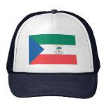 Equatorial Guinea Flag Mesh Hat