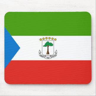 Equatorial Guinea Flag Mouse Pad