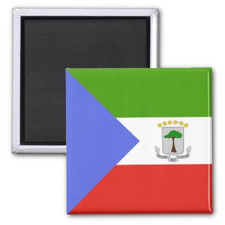 Equatorial Guinea High quality Flag Magnet