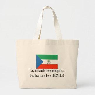 Equatorial Guinea Jumbo Tote Bag