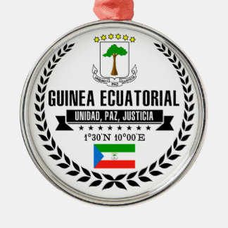 Equatorial Guinea Metal Ornament