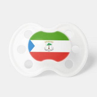 Equatorial Guinea National World Flag Pacifier