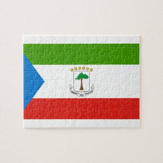 Equatorial Guinea National World Flag Puzzles