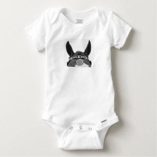 Equestrian baby jammy baby onesie