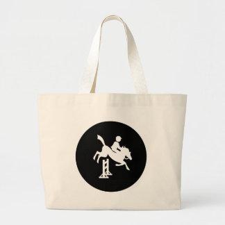 Equestrian Canvas Bag