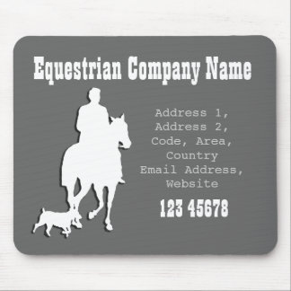 Equestrian Business Theme Collection Mouse Pads