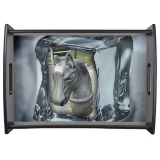 Equestrian Cocktail Tray Home Entertaining